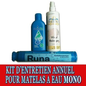 Kit d'entretien annuel pour matelas à eau Mono