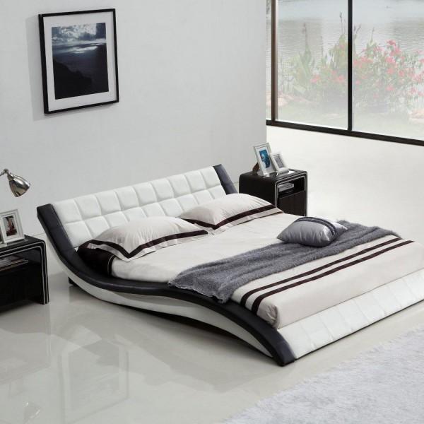 lit eau avec une structure design. Black Bedroom Furniture Sets. Home Design Ideas