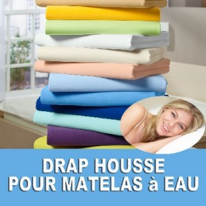 draps housse pour matelas eau. Black Bedroom Furniture Sets. Home Design Ideas