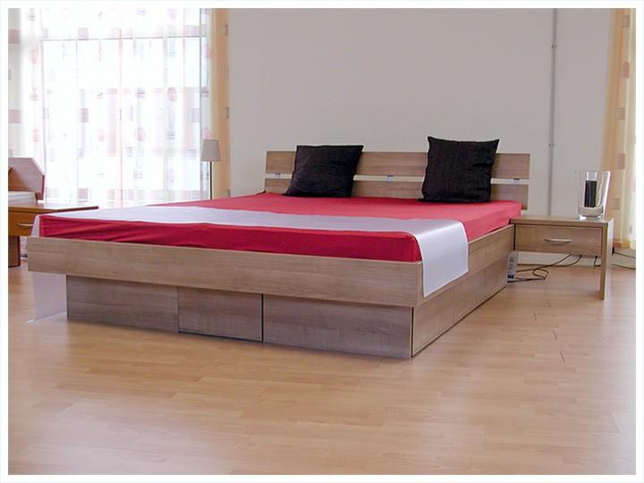 Lit avec tiroir dekoration mode fashion - Lit king size 200x200 pas cher ...