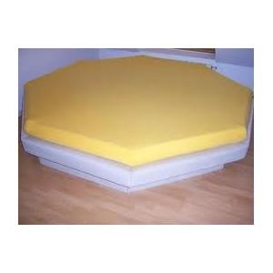Draps housse pour matelas rond ou octagonal for Drap housse lit rond